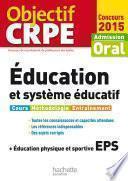 Objectif CRPE Éducation et système éducatif - 2015