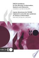 OECD Guidelines for the Security of Information Systems and Networks Towards a Culture of Security