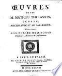 Oeuvres De Feu Contenant Plusieurs De Ses Discours, Plaidoyers, Mémoires et Consultations