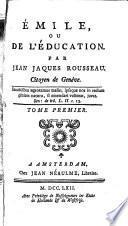 Oeuvres de J.J. Rousseau de Genève