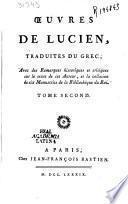 Oeuvres de Lucien