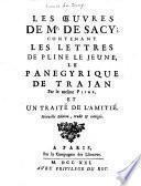 Oeuvres de Mr. de Sacy ...