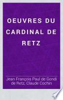 Oeuvres du cardinal de Retz