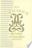 Oeuvres litteraires diverses