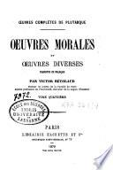 Oeuvres morales et oeuvres diverses