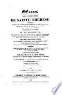 Oeuvres tres-complètes de Saint Thérèse