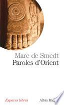 Paroles d'Orient