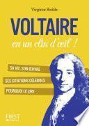 Petit livre de - Voltaire en un clin d'oeil