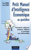 Petit manuel d'intelligence économique au quotidien