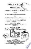 Pharmacie vétérinaire, chimique, théorique et pratique...
