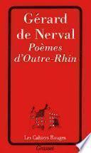 Poèmes d'outre-Rhin