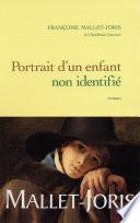 Portrait d'un enfant non identifié
