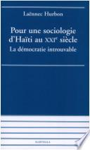 Pour une sociologie d'Haïti au XXIe siècle