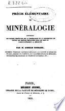 Précis élémentaire de minéralogie...