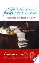 Préfaces des romans français du XIXème siècle