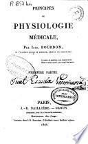 Principes de physiologie médicale