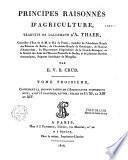 Principes raisonnés d'agriculture