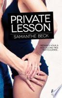 Private lesson