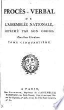 Procès-verbal de l'Assemblée des communes et de l'Assemblée nationale, 1789-1791