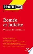 Profil - Shakespeare (William) : Roméo et Juliette