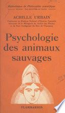 Psychologie des animaux sauvages