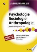 Psychologie, sociologie, anthropologie