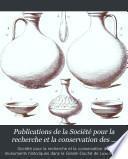 Publications de la Société pour la recherche et la conservation des monuments historiques dans le Grand-Duché de Luxembourg