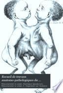Recueil de travaux anatomo-pathologiques du Laboratoire Boerhaave 1888-98