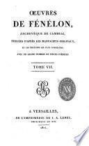 Reponse de Monseicneur L'Archeveque duc de Cambrai