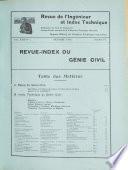 Revue de l'ingénieur et index technique