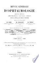 Revue générale d'ophtalmologie