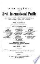 Revue génerale de droit international public