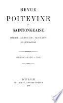Revue poitevine et des confins de la Touraine et de l'Anjou