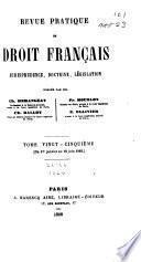 Revue pratique de droit français