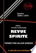 Revue spirite 1858-1873