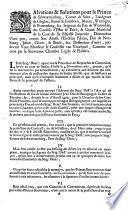Salvations & solutions pour le prince de Schwartzenberg ... demandeur d'une part, contre ... l'electeur palatin, duc de Neubourg ... deffendeur d'autre, pardevant vous monsieur le conseiller van Voorspoel, commis en cette par la souveraine chambre legale de Flandres