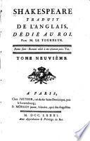 Shakespeare traduit de l'anglois: Henri IV