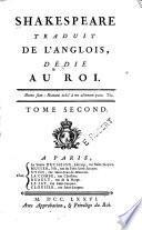 Shakespeare traduit de l'anglois: La tempête; Jules César