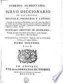 SOBRINO AUMENTADO, O NUEVO DICCIONARIO DE LAS LENGUAS ESPAÑOLA, FRANCESCA Y LATINA
