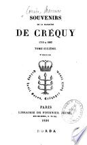 Souvenirs de la marquise de Créquy, 1710 à 1802