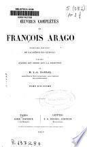 Œuvres complètes de François Arago: Mélanges