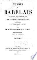 Œuvres de Rabelais