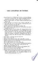 Œuvres historiques et littéraires, recueillies et mises en ordre par É. Mallet