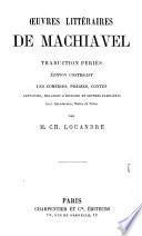 Œuvres littéraires de Machiavel