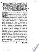Svr ce que les president & gens du Conseil Prouincial de Flandres, ont par leurs letres du dix-neufiesme de ce mois escrit aux chef president & gens du Conseil Priué des sermes. archidvcqz, noz souuerains seigneurs & princes