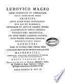 Tables astronomiques dessées et mises en lumiere par les ordres et par la magnificente de Louis le Grand
