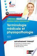 Terminologie médicale et physiopathologie - Assistant médico-administratif - Intégrer la fonction publique -2019/2020