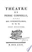 Théâtre de Pierre Corneille