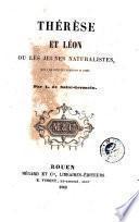 Thérèse et León, ou, Les Jeunes naturalistes