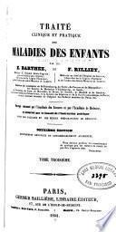 Traité clinique et pratique des maladies des enfants v.3, 1854